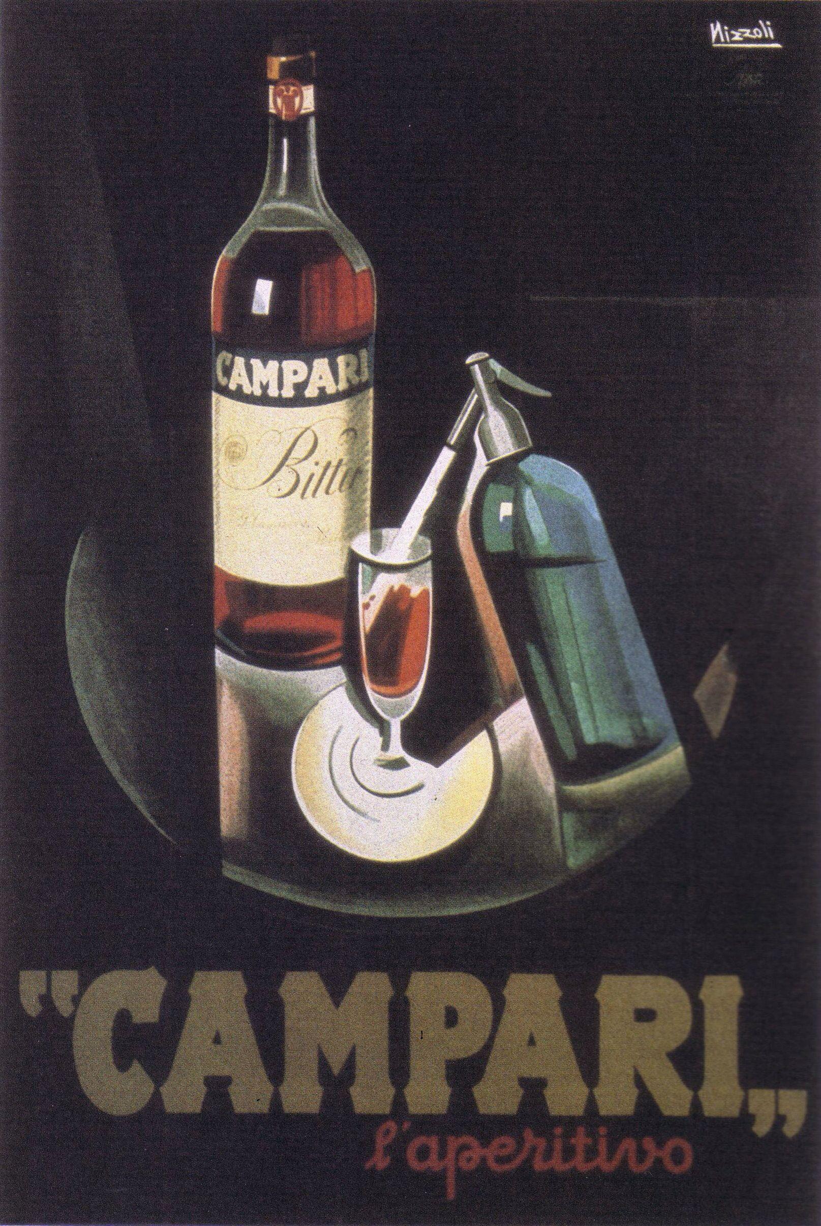 a96dcd2adb26 Campari liqueur Poster