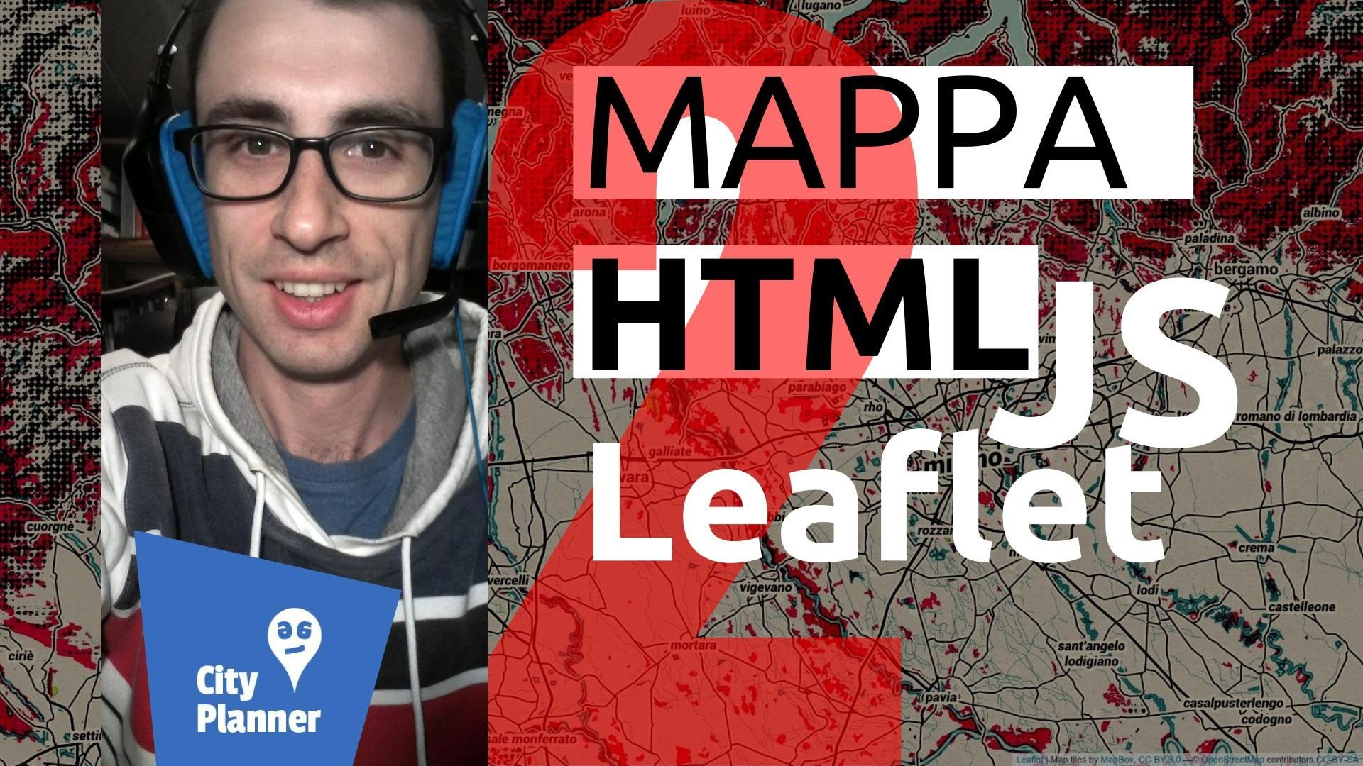 WebGIS tutorial using LeafletJS : HTML CSS and Bootstrap