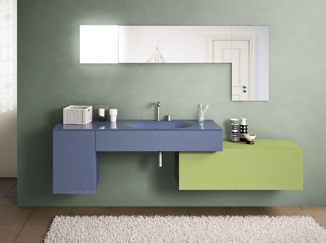 Une Salle De Bain Design De La Gamme 36e8 En Couleur En