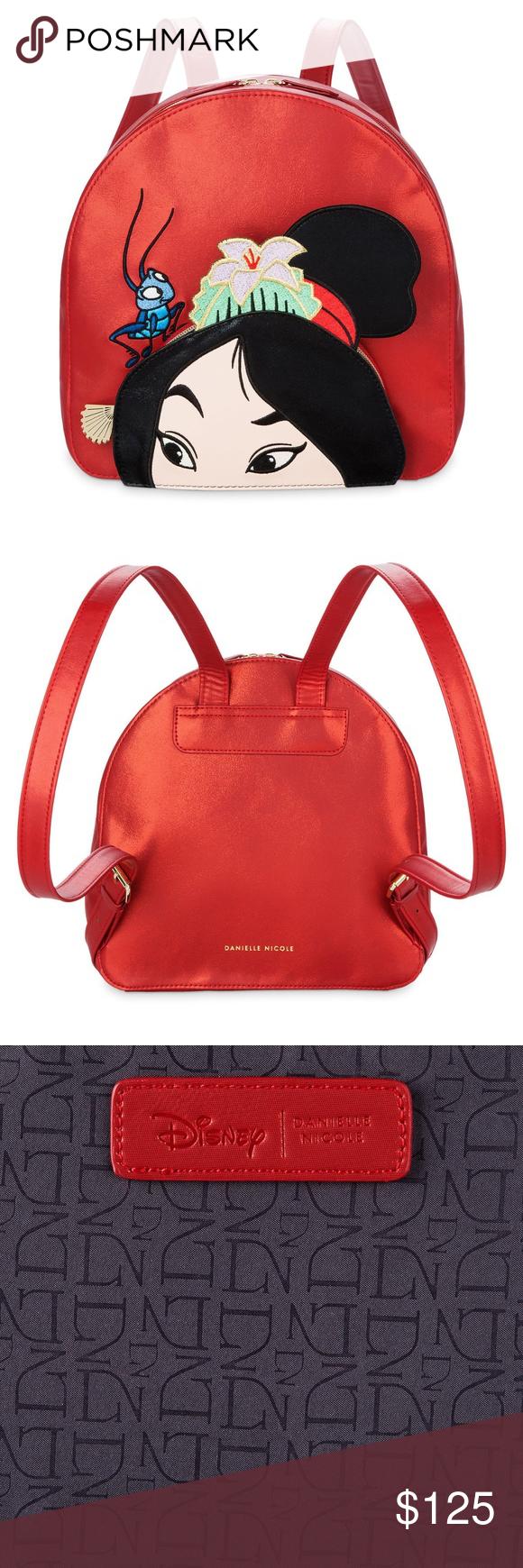 193bf555d71 Disney  amp  Danielle Nicole Mulan Mini Backpack NWT Disney  amp  Danielle  Nicole Mulan Mini