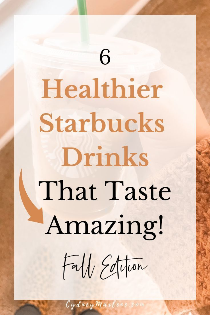 6 great-tasting Starbucks drink recipes that are low carb, macro-friendly, and low calorie! Plus, a new, healthy take on the pumpkin spice latte! Fall edition healthier Starbucks drinks. #healthyrecipes #Starbucks #healthystarbucksdrinks