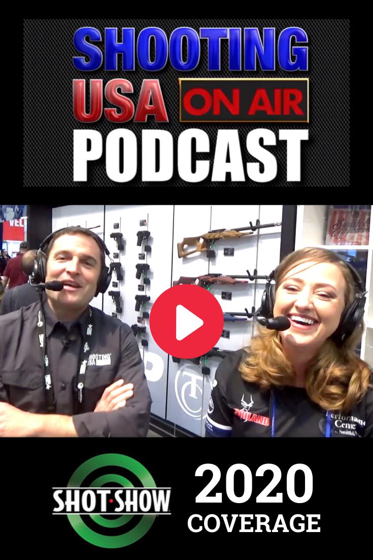 Chatting with John Scoutten at SHOT Show Shot show