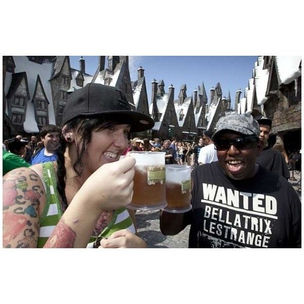 What Is The Best Recipe For Harry Potter Butterbeer? ❤ liked on Polyvore