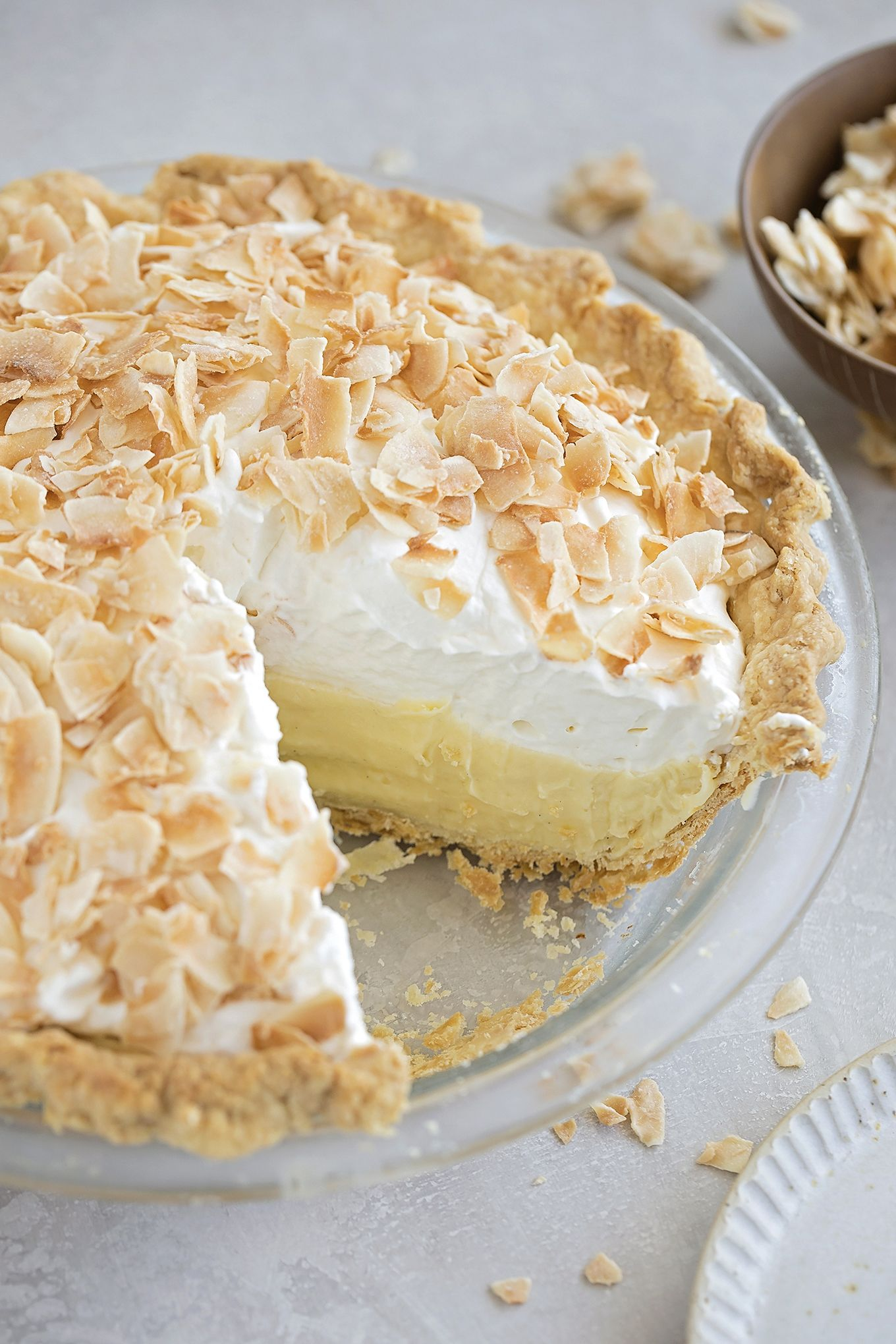 Perfect Coconut Cream Pie - Life Made Simple