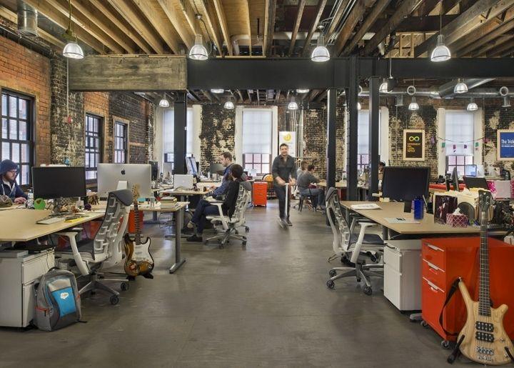 Detroit Labs Offices by Kraemer Design Group Detroit Michigan