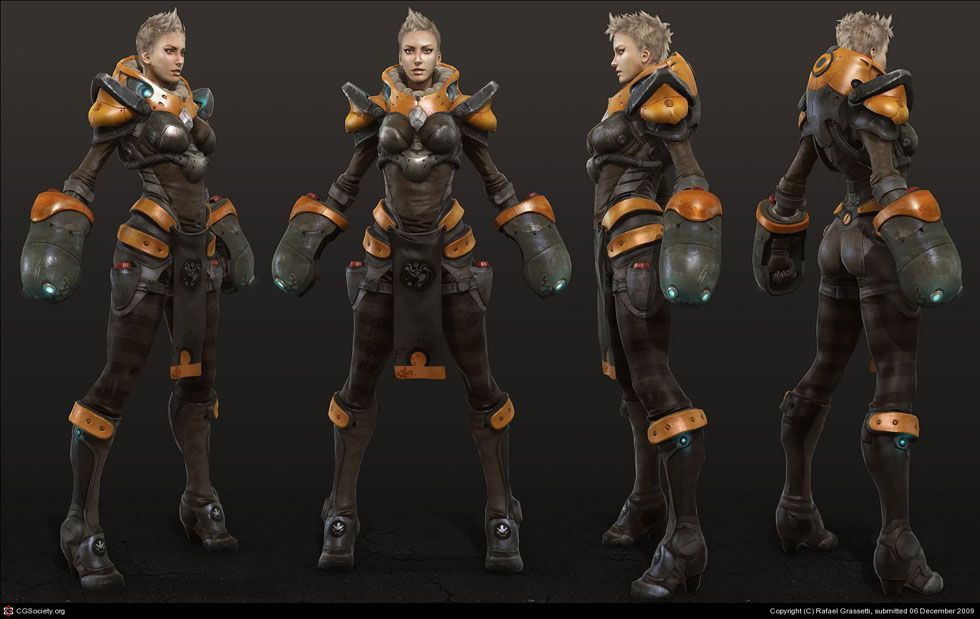 Game Character Design Tips : 25 amazing 3d game characters design masterpieces for inspiration