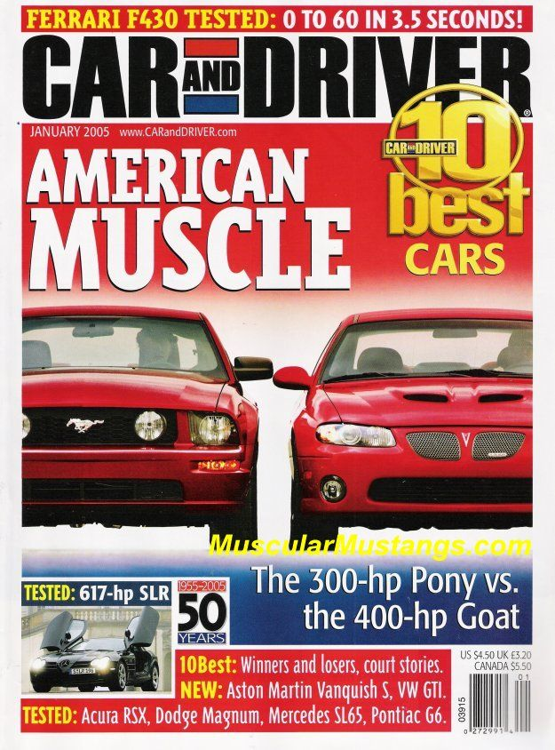 Ford Mustang On Magazine Covers