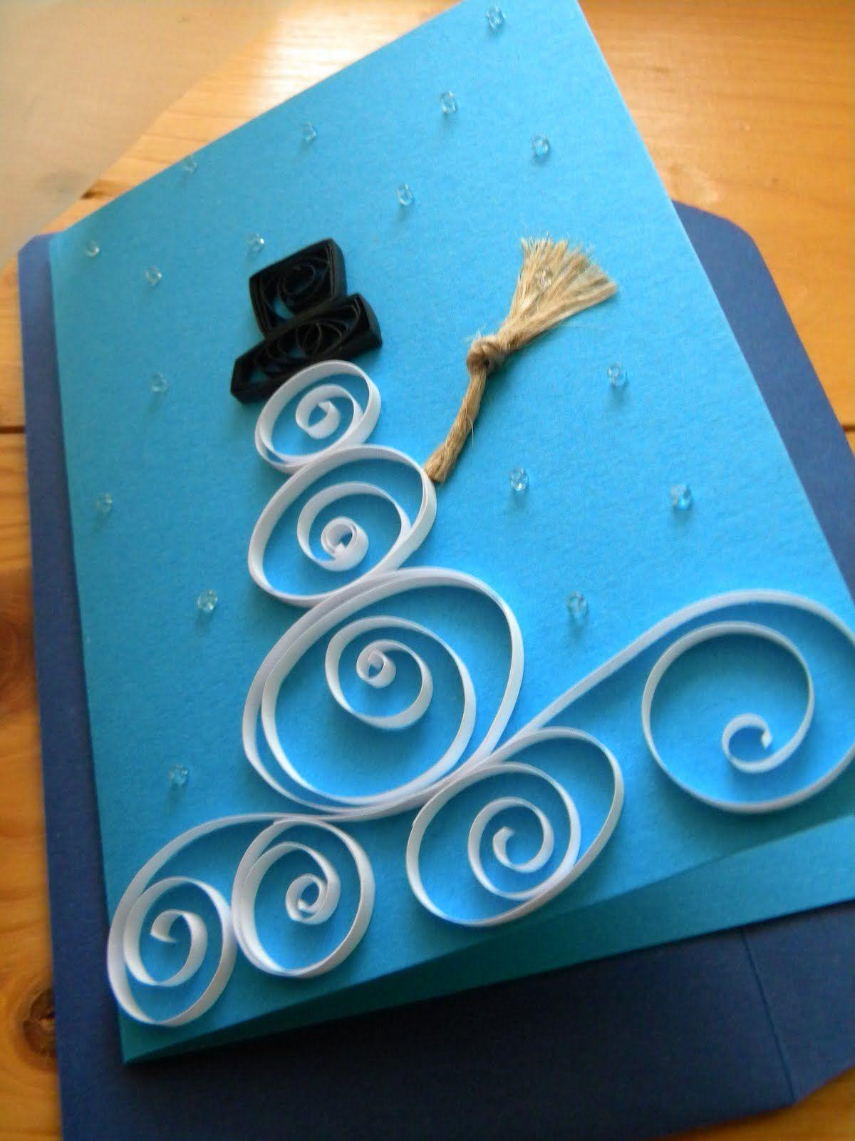 Make Christmas Card Ideas Part - 43: 34 Adorable DIY Christmas Postcard Ideas