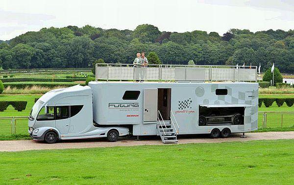 Futuria The Ultimate Motor Home Hunie Luxury Rv Recreational Vehicles Motorhome