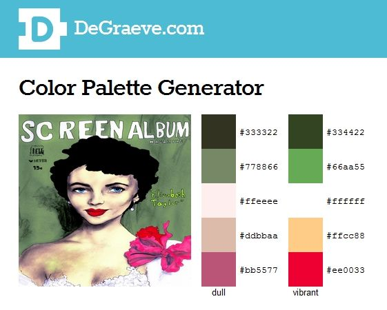 Color Palette Generator Make Color Schemes Enter The