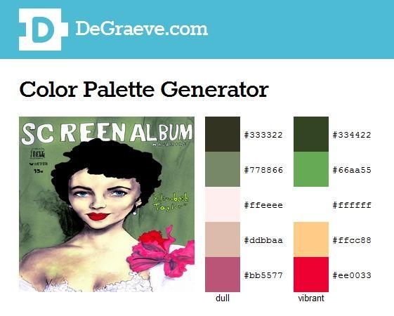 Color Palette Generator Make Color Schemes Enter The