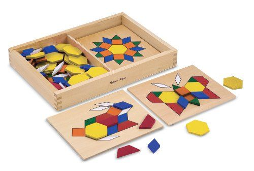 Best Educational Toys For 3 Year Olds Pattern Blocks Wooden