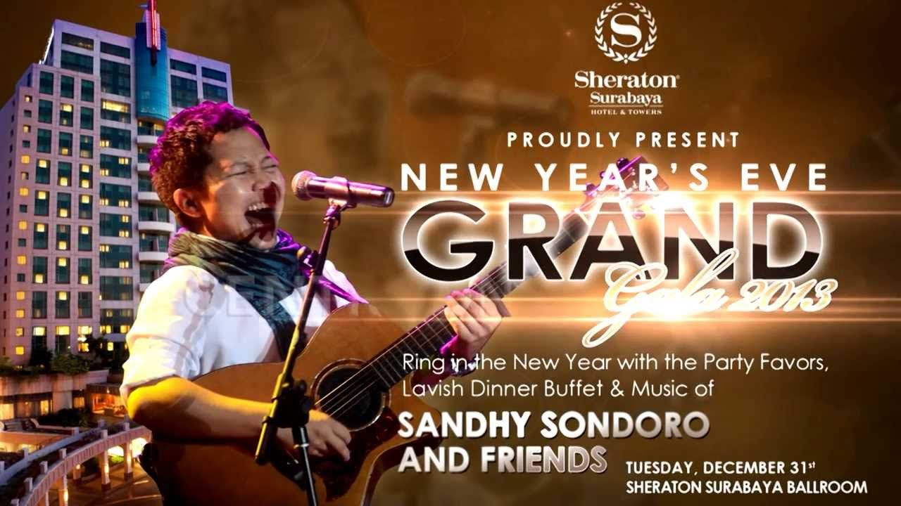 The Biggest New Year S Eve Party In Surabaya With Sandhy Sondoro