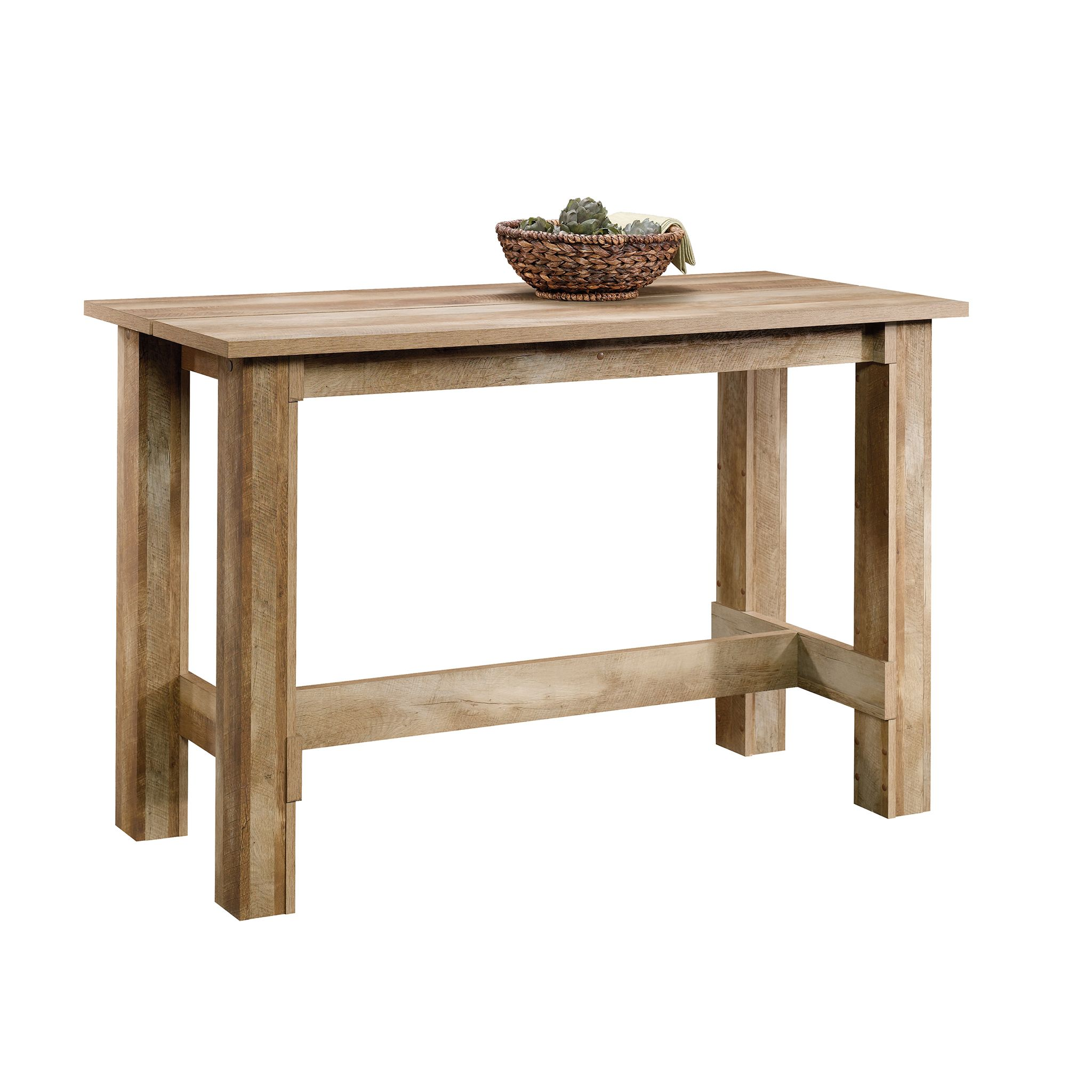 sauder boone mountain counter height dinette table