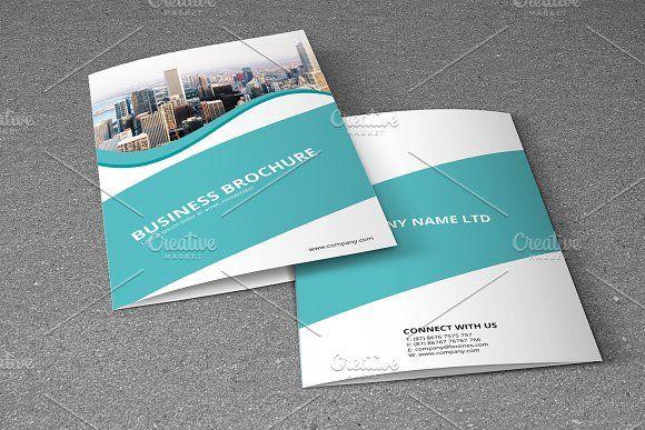Corporate Bifold Brochure-V726 @creativework247 Brochure Design