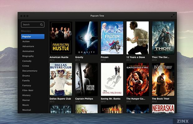 Popcorn Time Streams Movies From Torrents Popcorn Times Movies Netflix Streaming