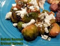 Buffalo Roasted Brussel Sprouts Recipe
