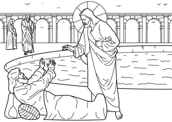 Jesus Heals A Demon Possessed Man Sunday School Crafts Jesus