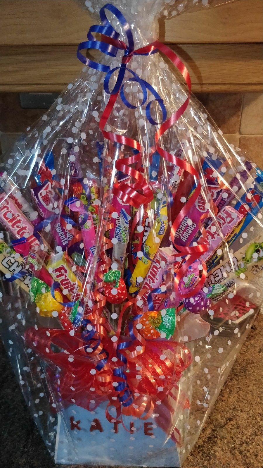 Details about retro sweet tree bouquet gift hamper