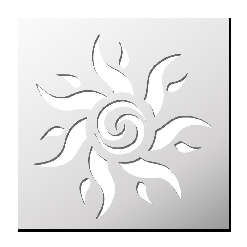 Pochoir Soleil (avec images) | Pochoir silhouette, Pochoir, Pochoir a imprimer