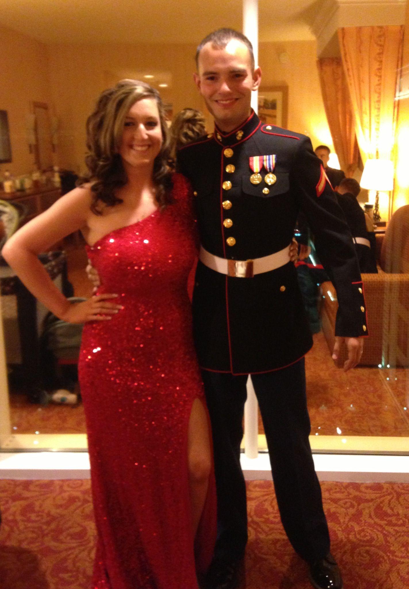Marine Corps Ball Dress