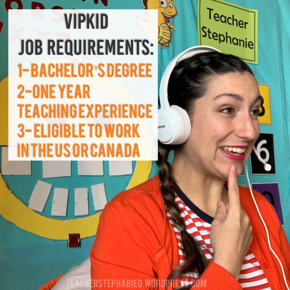 How to submit your resume with vipkid step 1 in the