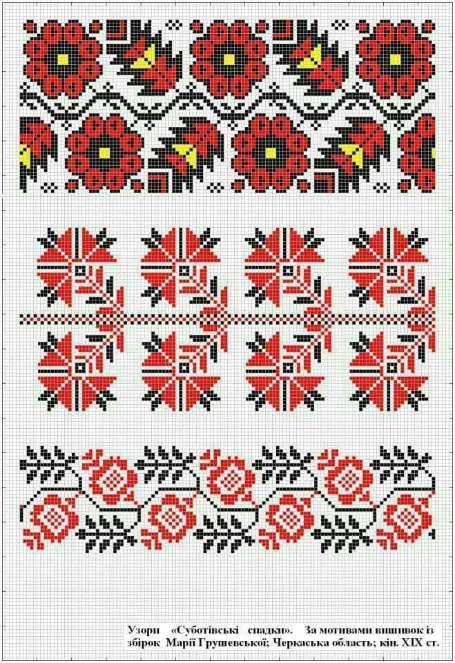 Ukrainian traditional embroidery Вишивка Хрестиком 36e2eb8a85d24