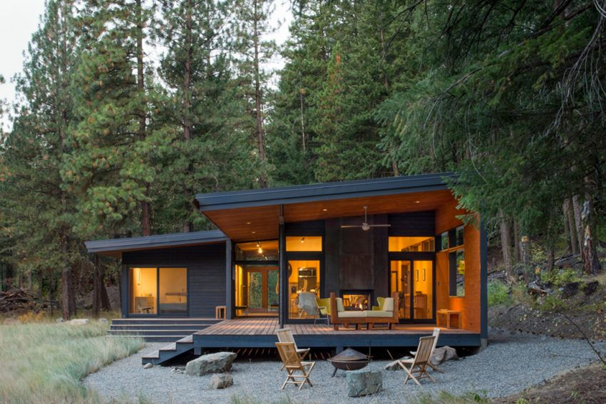 Lot 6 Cabin By Pbw Architects Offers Nature Filled Respite In The
