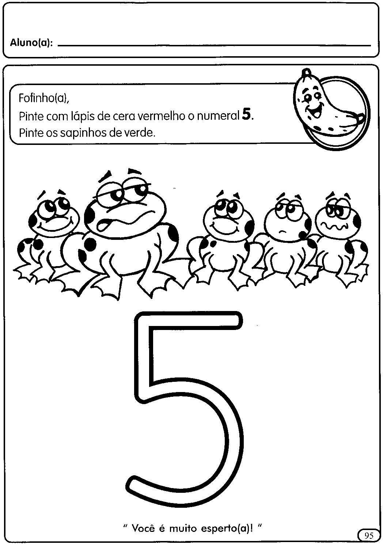 5 Rakam Alma Sayfas Okuma Yazma Number Worksheets
