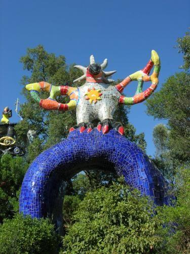 Le Jardin Des Tarots Niki De Saint Phalle Peintures Art Abstrait Tarot