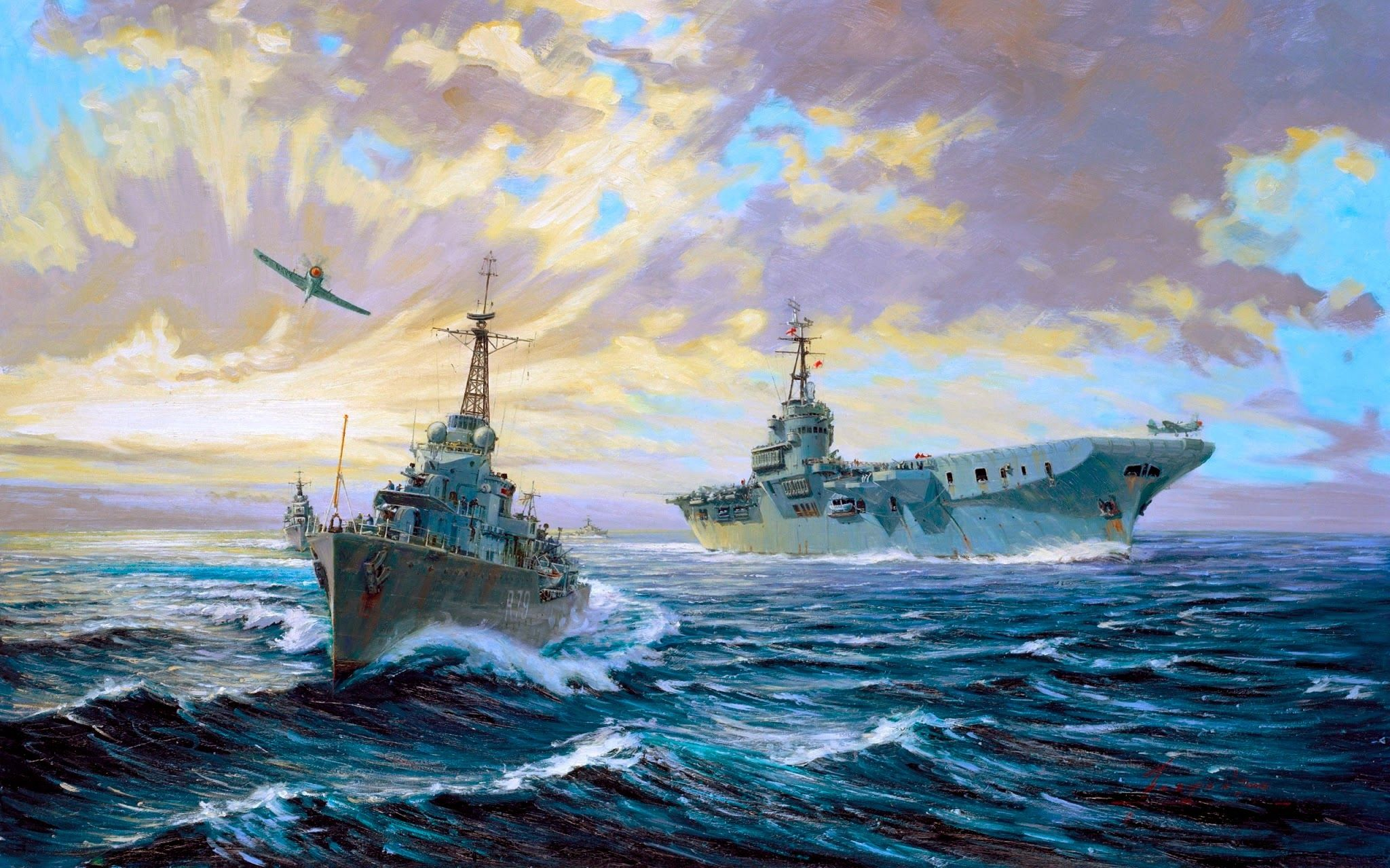 navy ships ...