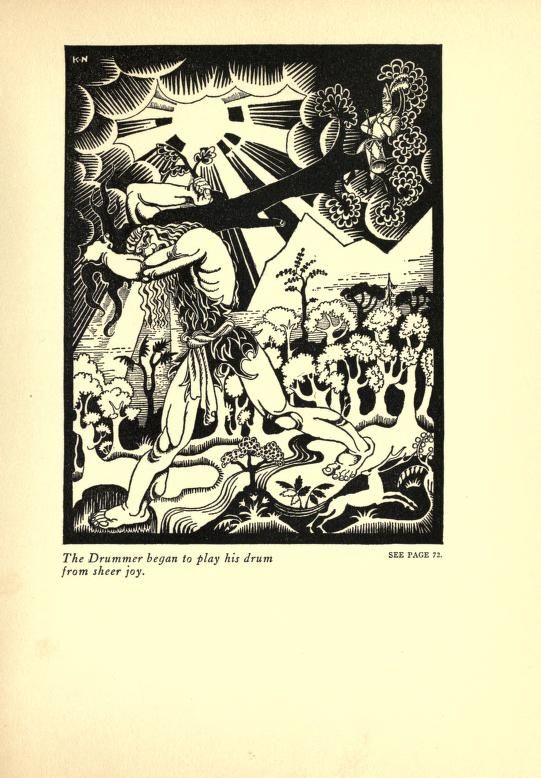 Hansel and Gretel and other stories  by the brothers Grimm. Illus. by Kay Nielsen. Published 1921