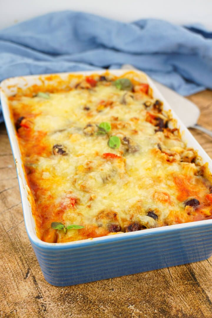 Photo of Low carb casserole in Tex Mex style – Mexican dinner …