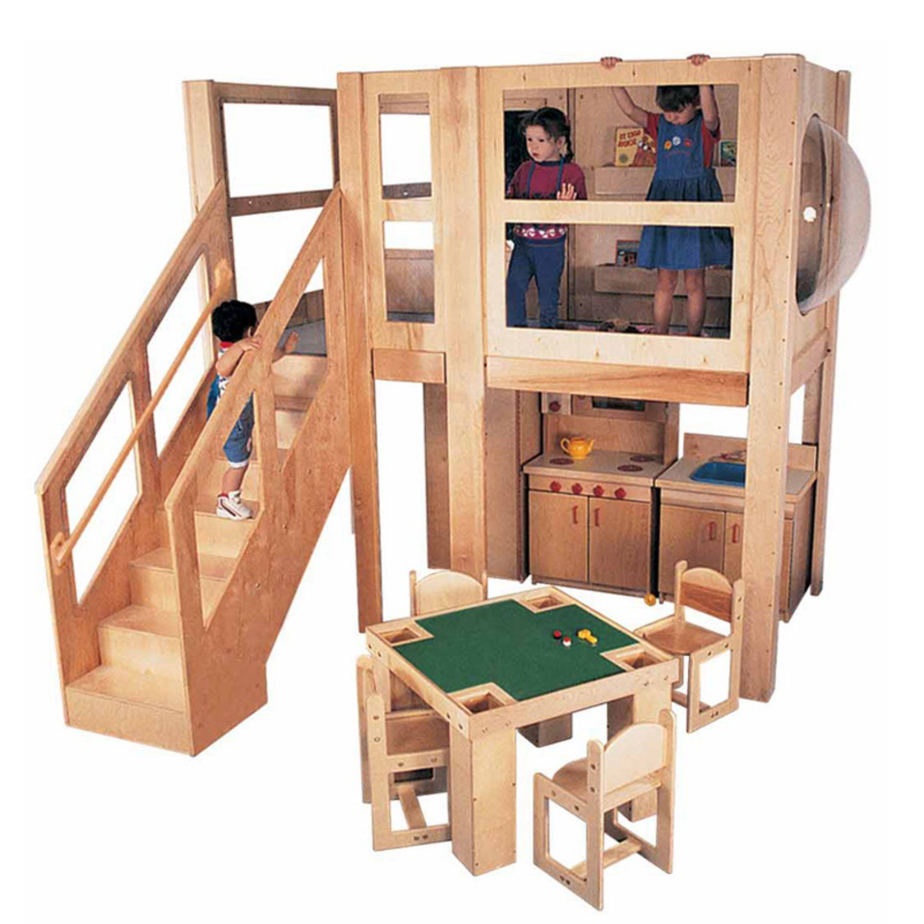 Strictly For Kids Preferred Mainstream Explorer 5 Loft With Steps On Left Sf5046pl