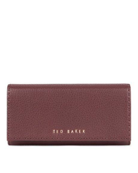 b50b05d49 Stab stitch leather purse - Dark Brown