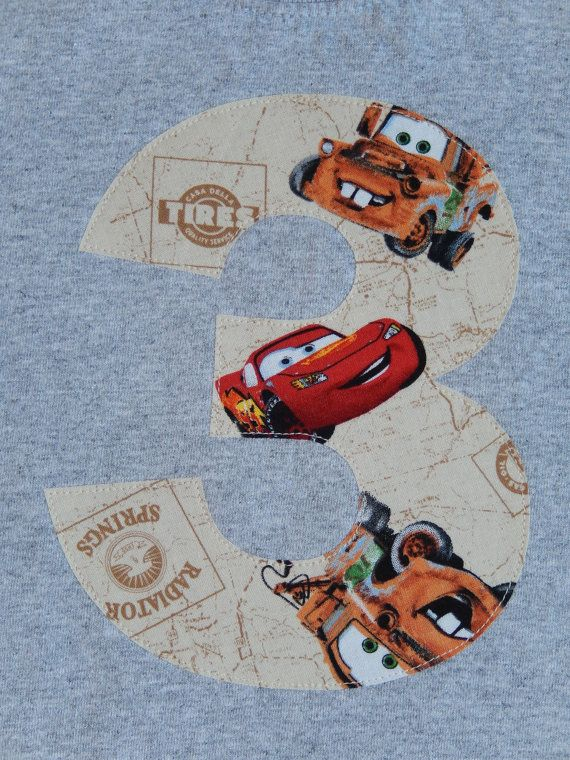 Tow Mater Birthday Lightning McQueen 3 Years by TheYellowBumbleBee