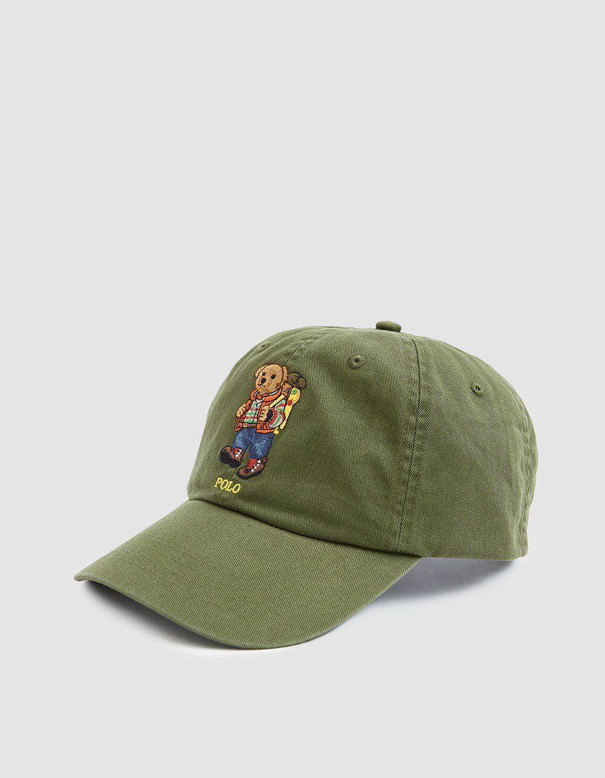 075f718d2bd Polo Ralph Lauren   Sportsmen Embroidered Bear Cap in 2019 ...