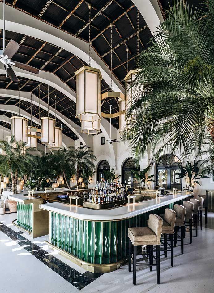 Restaurant Kitchen Wallpaper surf's up: miami's legendary surf club is now resurgent and awash