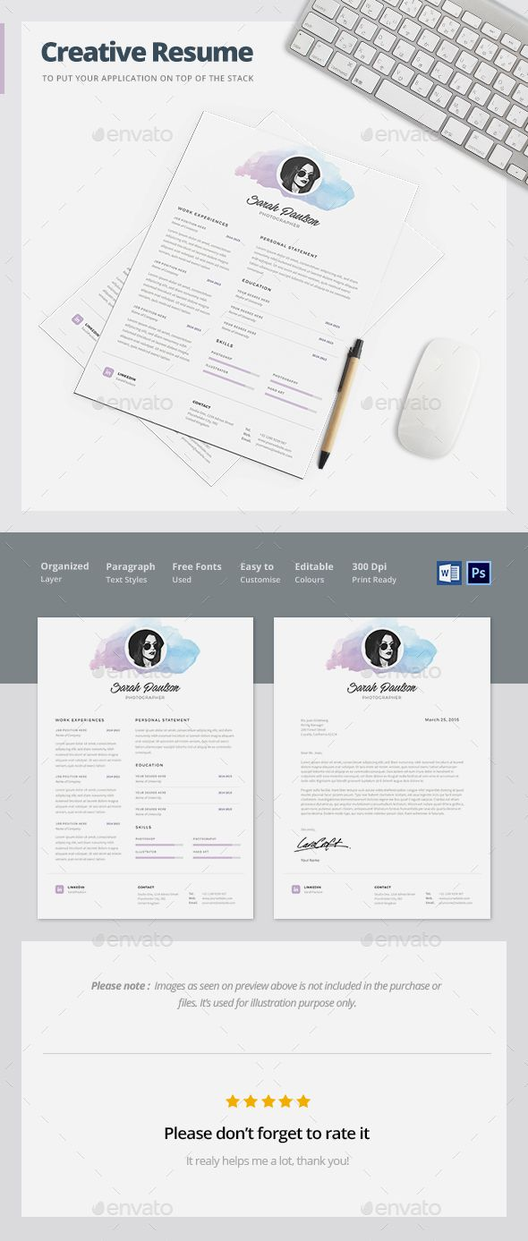 Creative Resume Template  Creative Resume Templates Template And