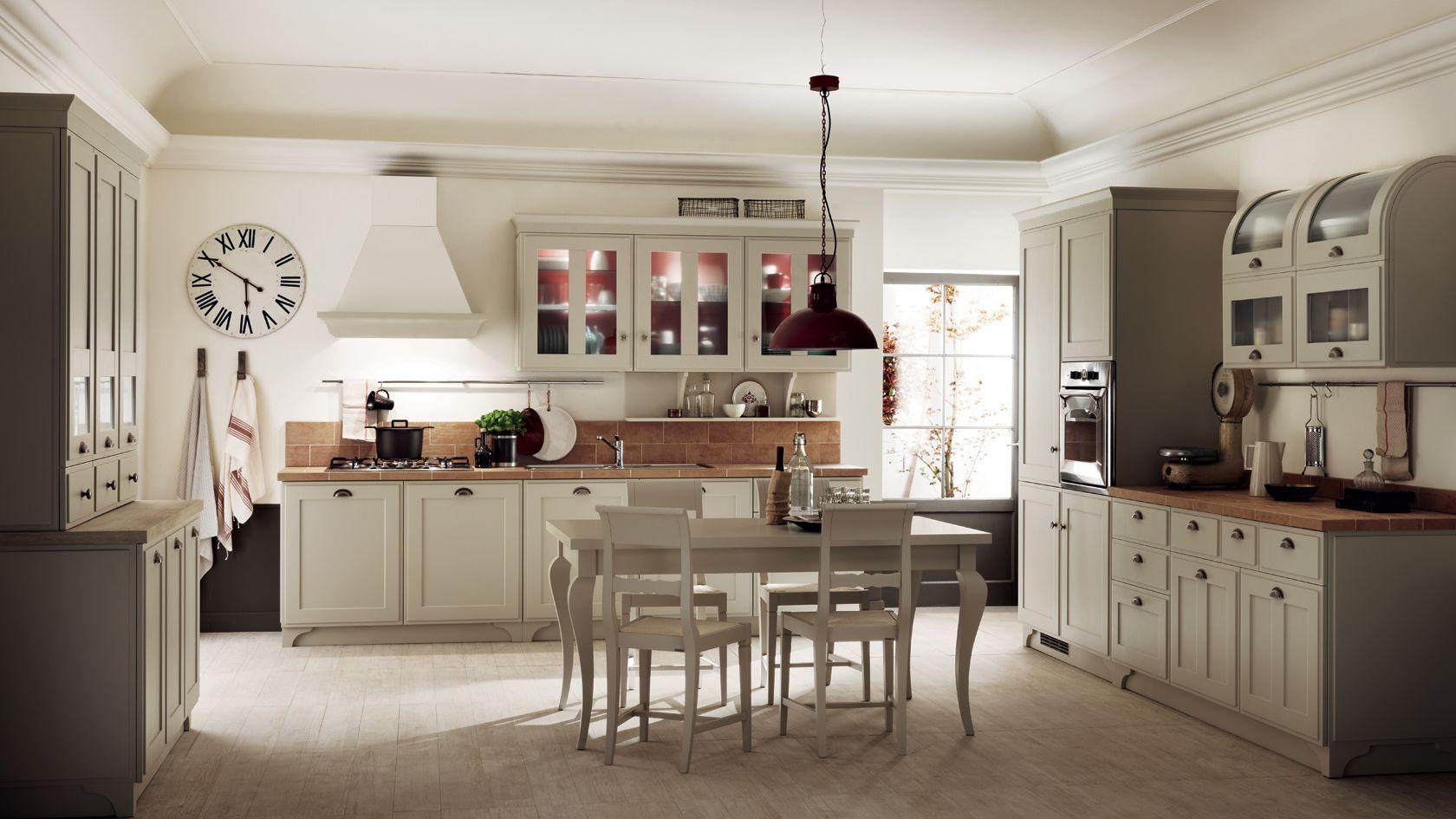 Shabby chic in cucina con Favilla la nuova cucina Scavolini ...
