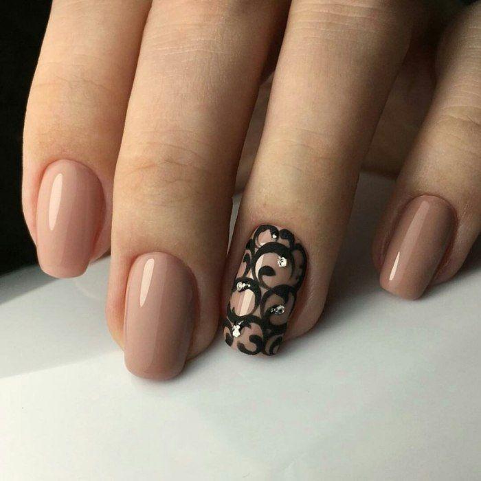 25 Ideas de manicure nude que querrás hacerte hoy mismo