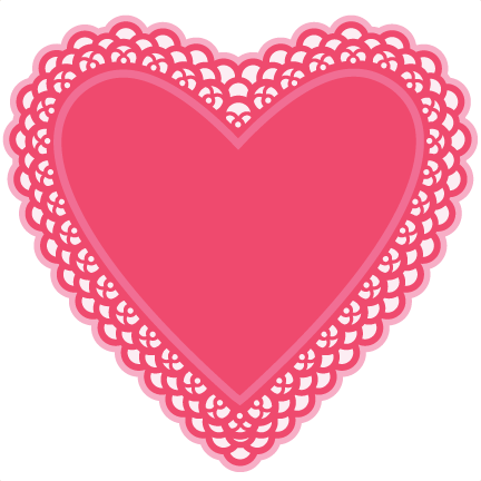 Heart Doily SVG cutting files for scrapbooking free svg ...