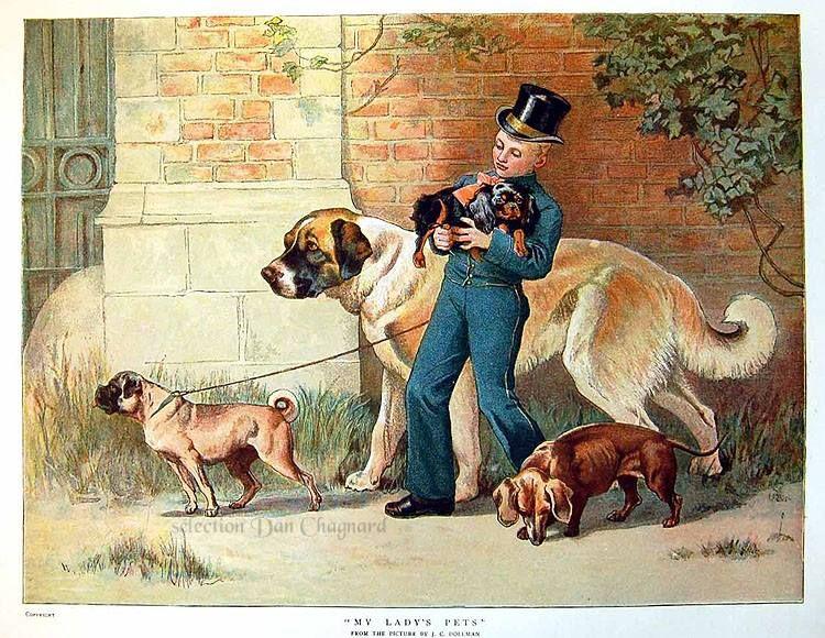 John charles dollman 1851 1934 artiste peintre for Artiste peintre anglais