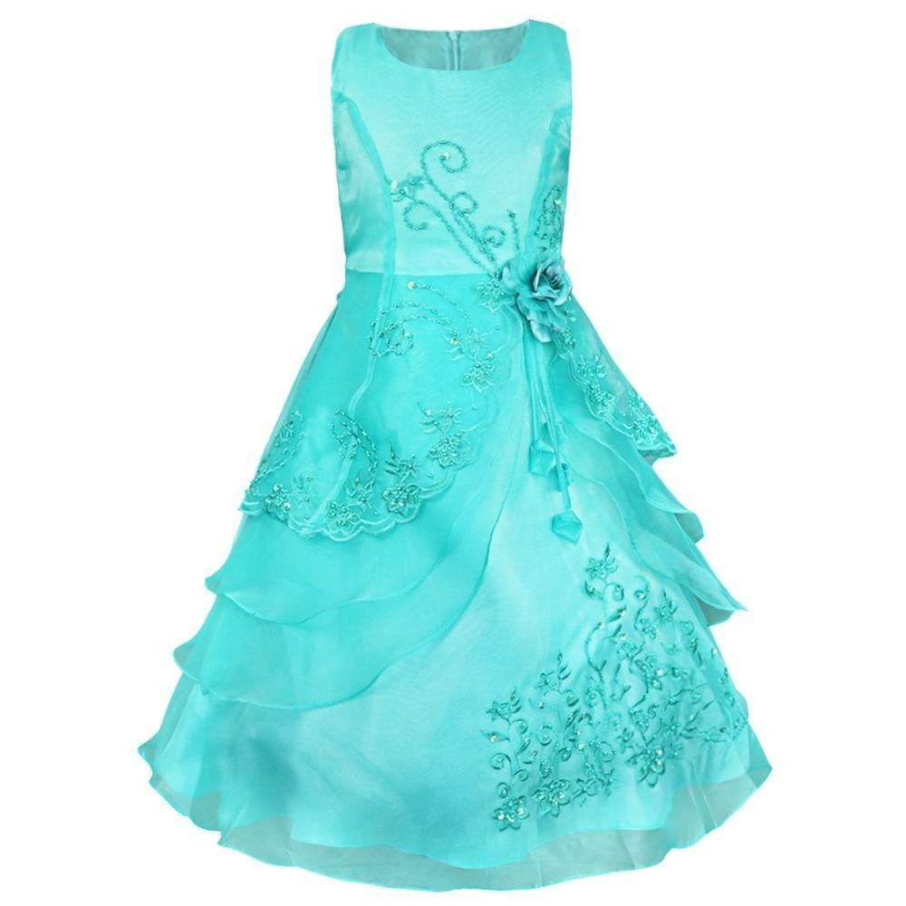 Embroidered flower pageant dress for girls products pinterest