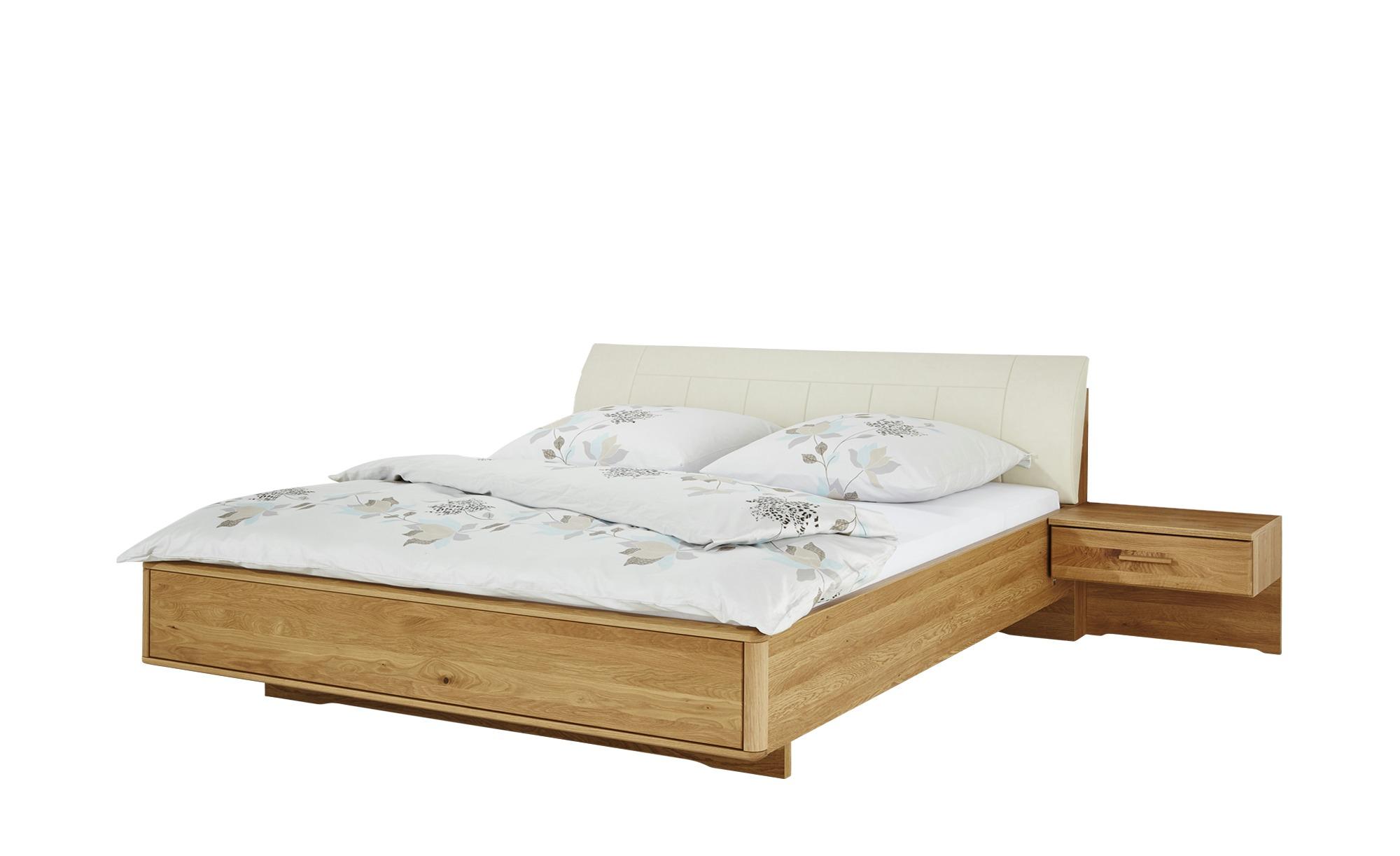 Woodford Bettanlage 180x200 Creme Eiche Kyran Holzfarben Masse Cm B 189 H 91 Betten Futonbetten Hoffner Bett Holzfarben Mobel Landhausstil