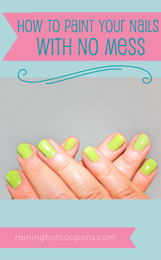 How To Paint Your Nails With No Mess | Makeup, Nail nail and Beauty ...
