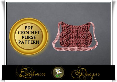 (4) Name: 'Crocheting : Purse Handbag Clutch Crochet Pattern