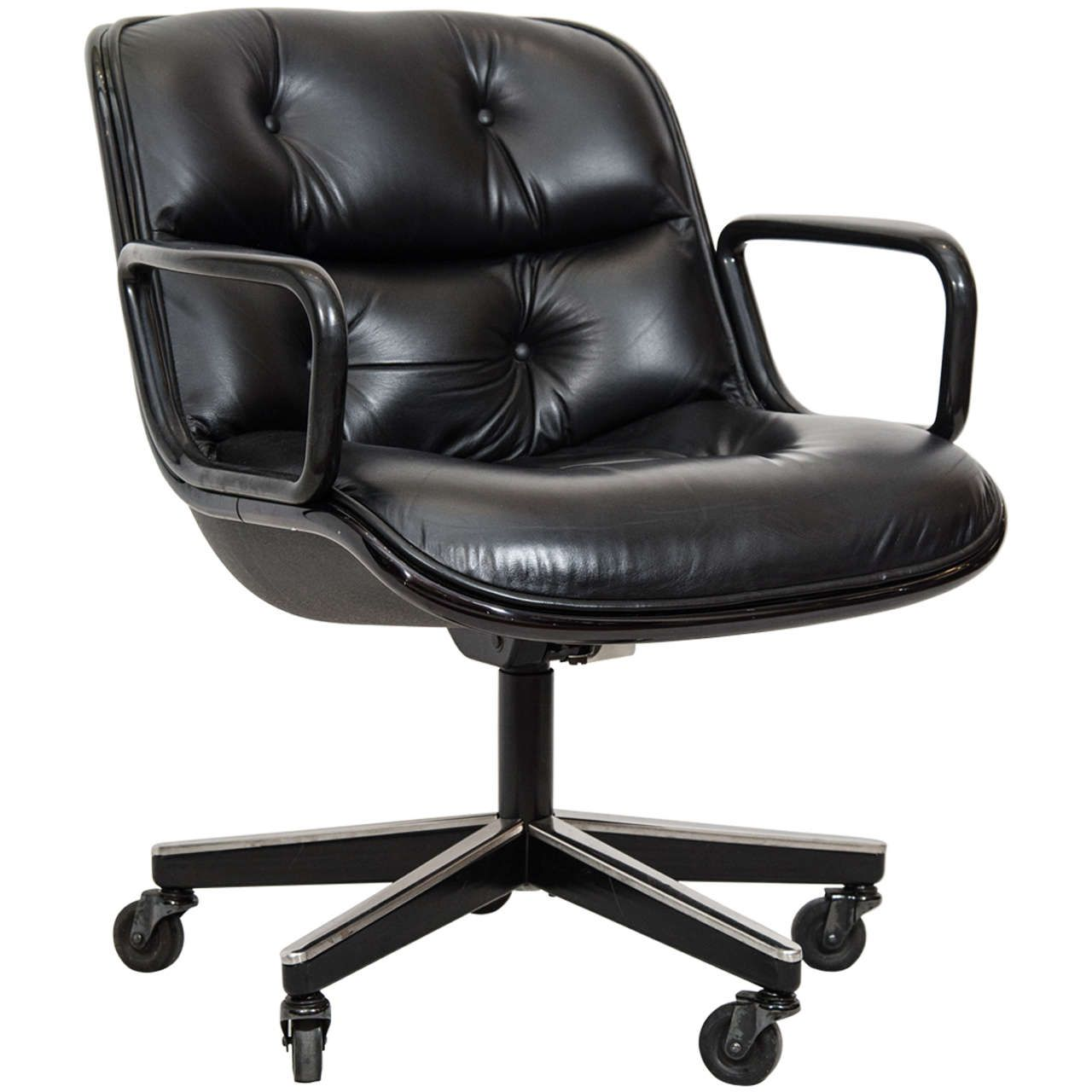 Charles Pollock Executive Desk Chair For Knoll Desks Office
