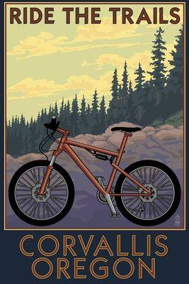 Corvallis Oregon Has Some Great Mountain Biking Trails