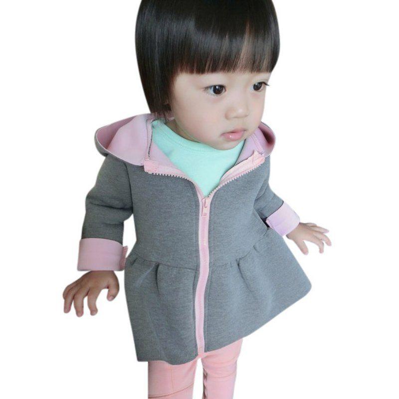 b2477149a Click to Buy    Kids Coat Girls Jacket Animal Rabbit Design Cotton ...